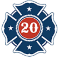 The first twenty logo